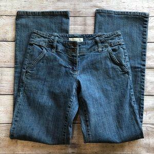 Michael Kors double button Jeans size 6